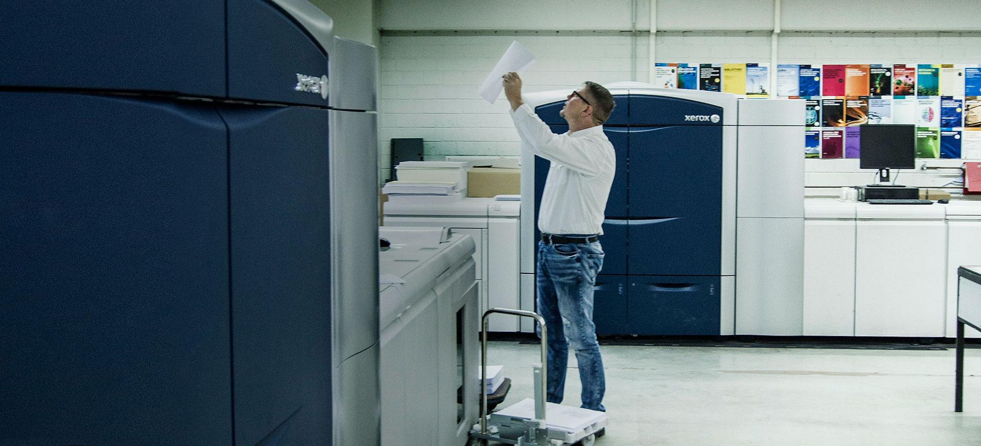 Systeme und Lösungen für Ihren Erfolg im Digitaldruck