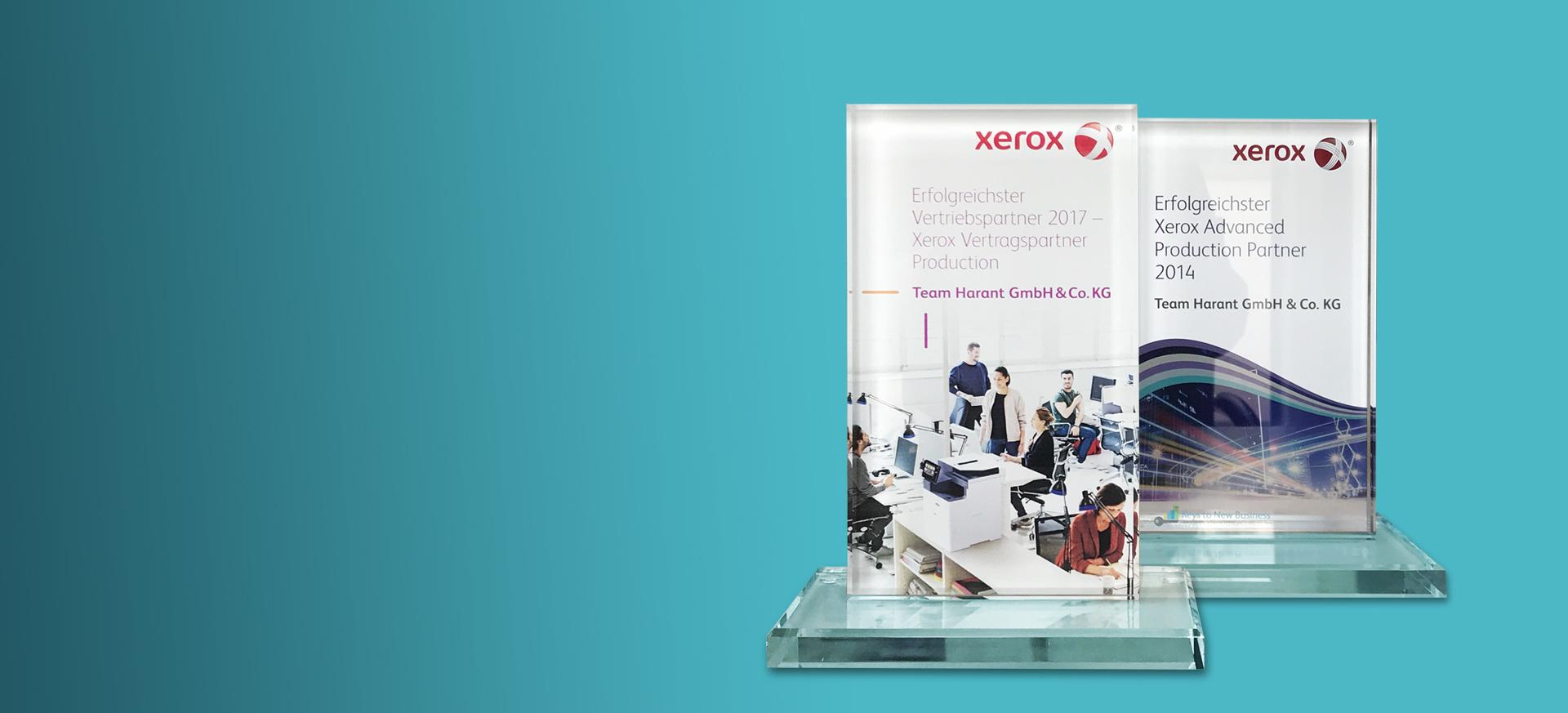 Erfolgreichster Xerox Vertragspartner Production