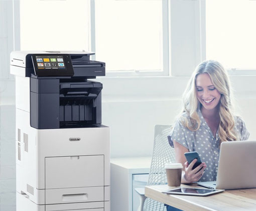 Drucker mit Xerox Workplace Solutions