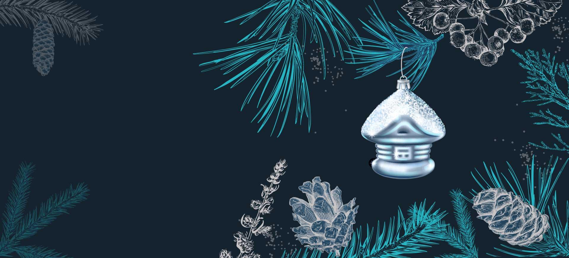 Wir wünschen Ihnen </br>eine besinnliche Adventszeit &</br> frohe Weihnachten