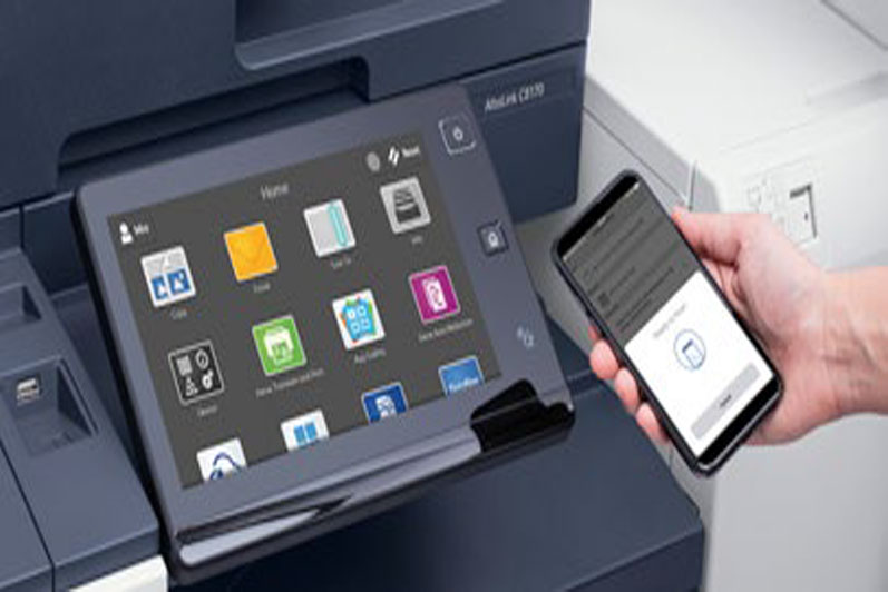 Follow Me Printing NFC Druckerfreigabe