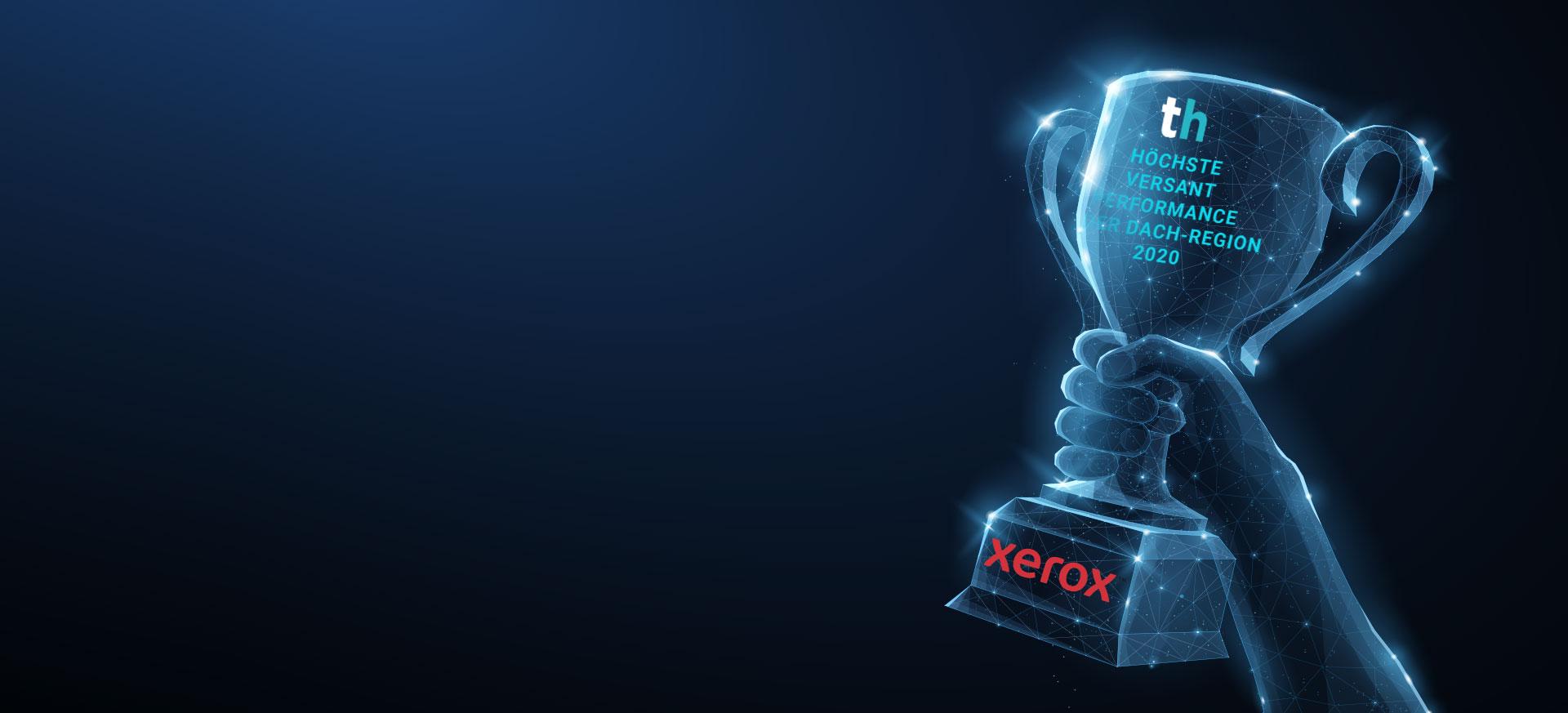 Zum 3. Mal: Bester Xerox Partner im Bereich Production